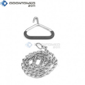 """OdontoMed2011 OB Calf Pulling Chain 60"""" Length with Handle Veterinary Instruments ODM"""