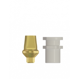 DSI® Straight Snap-On Transfer Abutment Small 4mm Collar 1mm