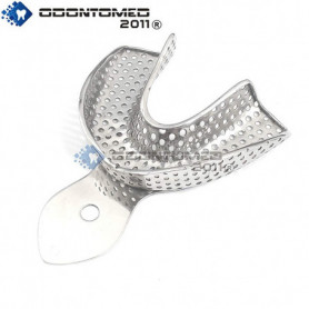 OdontoMed2011® Impression Tray Perforated Lower M ODM